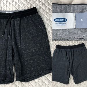 Old Navy draw string sweatpant shorts.